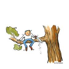 Cutting off Branch