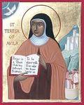 Teresa of avila icon