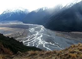 Braided River - South Island