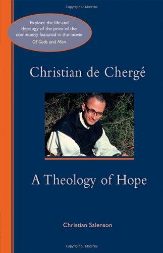 Christian de Chergé- A Theology of Hope - Cover