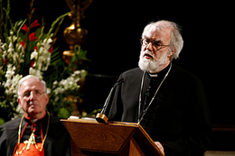 Rowan Williams @ Westminster Cathedral - 2008