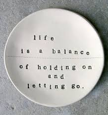 Letting Go, Holding On