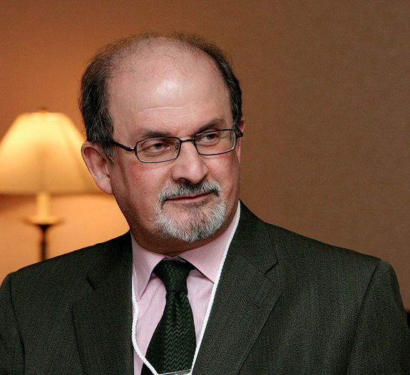 Salman Rushdie - Image by Jake White