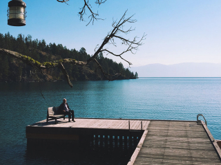 Eugene-Peterson-sitting-dock-2_0