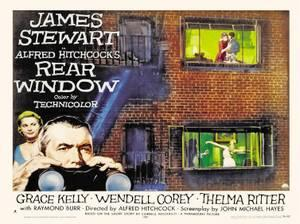 Rear Window - poster