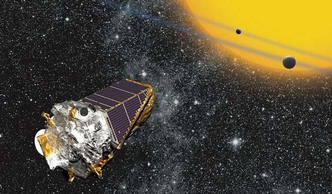 Kepler - Credit- NASA Ames: W Stenzel
