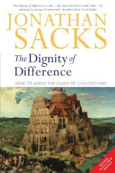 Jonathan Sacks - The Dignity of Difference - cover