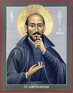 Saint Ignatius of Loyola - icon