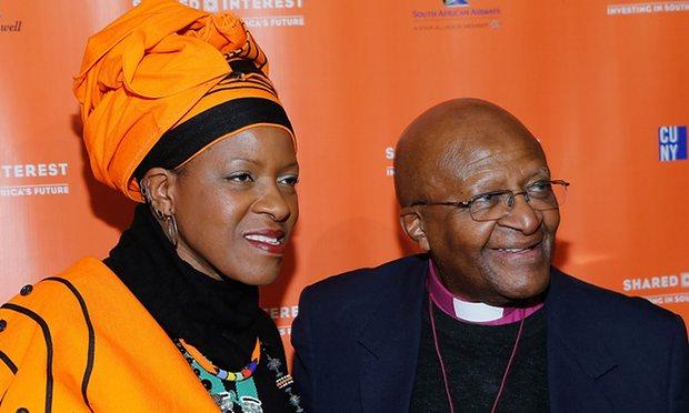 Mpho Tutu & Desmond Tutu - photo credit John Lamparski - WireImage