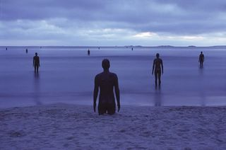 Athony Gormley Sculpture