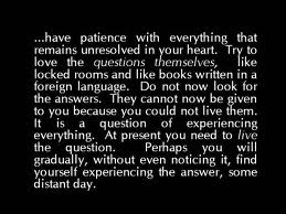 Rilke - Have Patience with Everything